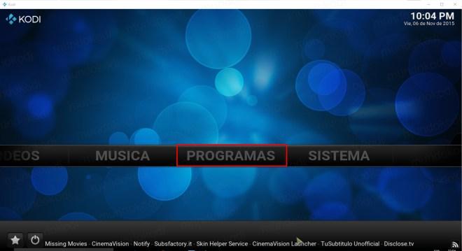 8 programas