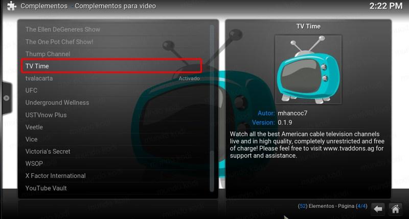 tv time en kodi. 4 tv time repo