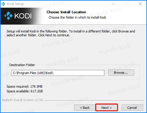actualizar kodi. install4