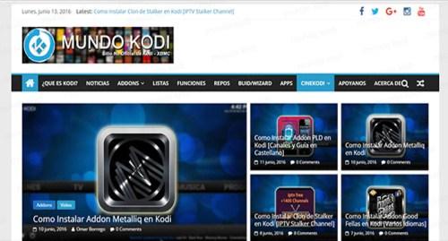 Chrome Launcher en Kodi chorme mundokodi