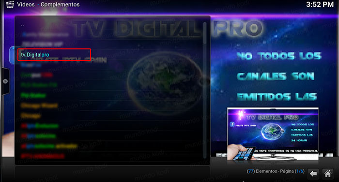 3 tv digital pro