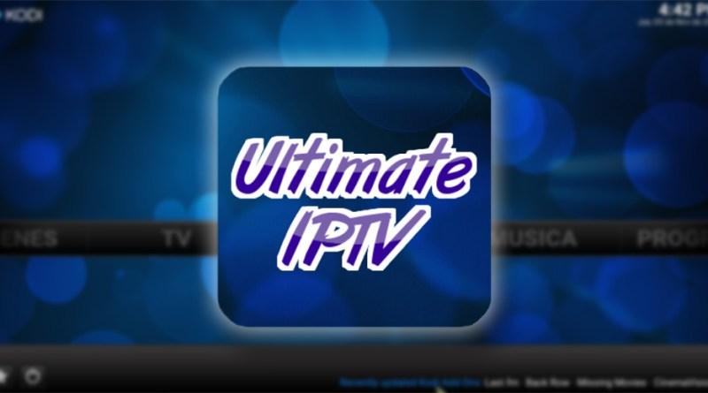 addon ultimate iptv en kodi