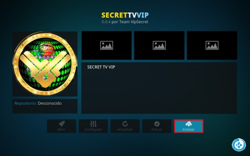 addon secret tv vip en kodi