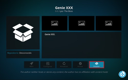 addon genie triple x en kodi