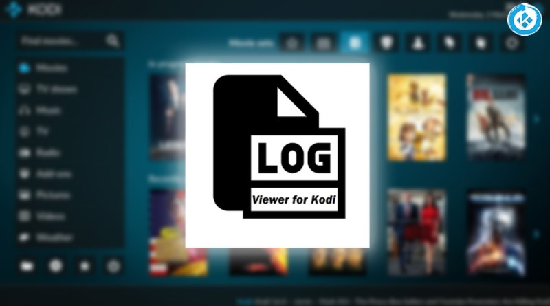 addon log viewer en kodi