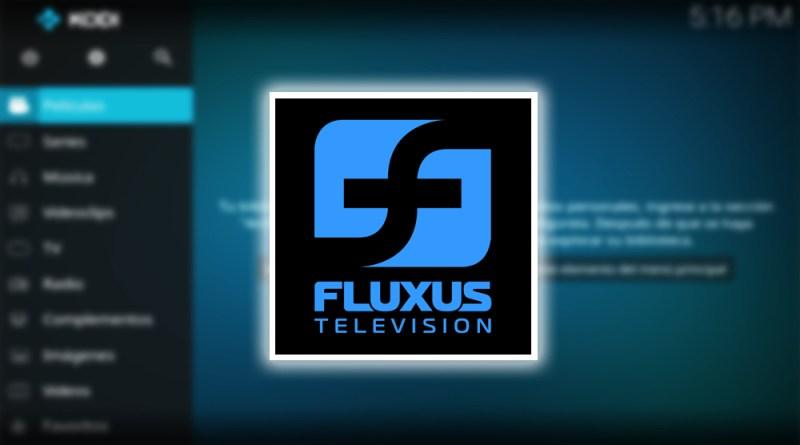 lista Flexus TV en Kodi