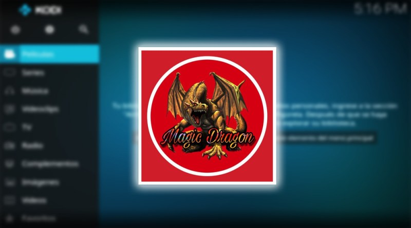 addon the magic dragon en kodi