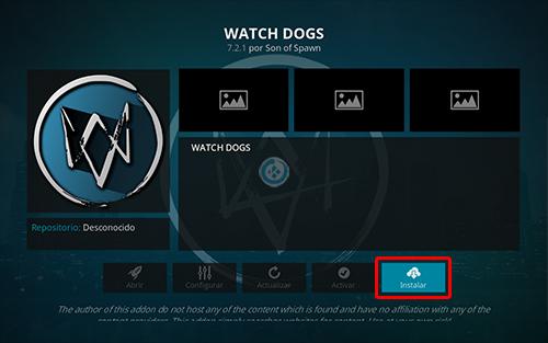 addon watch dogs en kodi