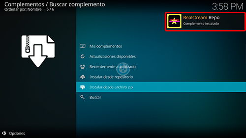 addon real stream en kodi