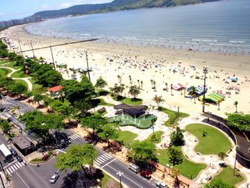Orla de Santos. Foto: Tadeu Nascimento