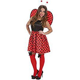 Disfraz de Mariquita Sexy Talla Adulto - mundomariquita.com