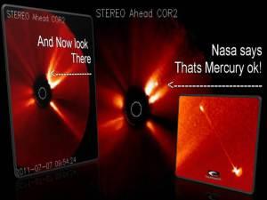 La NASA dice que es mercurio, ¿realmente?
