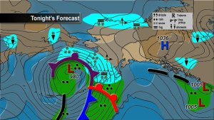"Costa oeste de Alaska se prepara para tormenta monstruosa de ""Magnitud Épica"", 09 noviembre 2011"