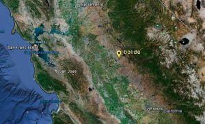 El meteoro/bola de fuego que se sintió en California el domingo era 'del tamaño de un monovolumen', abril 2012