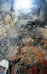 Tumba maya de la reina serpiente K'abel descubierta en Guatemala