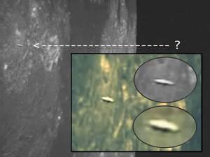 Fotografía de la NASA muestra OVNI sobre la superficie lunar