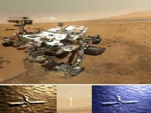 ¿Gran cruz o satélite grabado por el Curiosty? – 03 de noviembre 2012