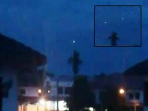 OVNI grabado sobre Sarawak Borneo – 10 de noviembre 2012