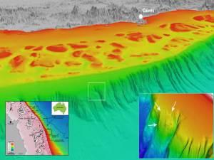 Losa marina inestable cerca de la Barrera de Coral podría causar un tsunami monstruoso en el norte de Queensland