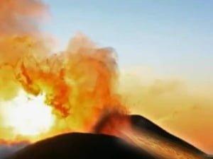 Asombroso vídeo de cuatro volcanes haciendo erupción al mismo tiempo