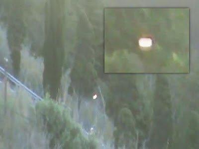 OVNI con forma de orbe sobre casas en España – 09 de julio 2013