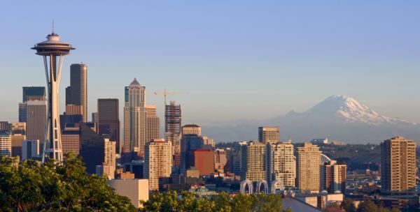 Barrios montañosos de Seattle podrían caer en el agua durante el próximo terremoto