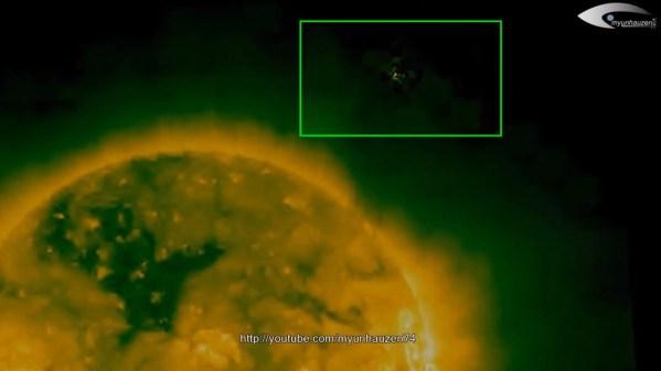Actividad de OVNIs cerca del Sol para el 06 de enero 2014