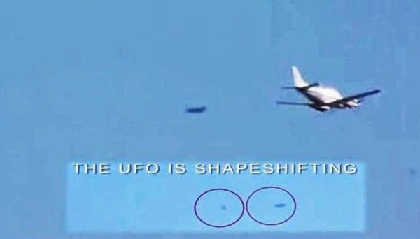 OVNI en Nevada perseguido por un Jet militar Lockheed F-117 Nighthawk