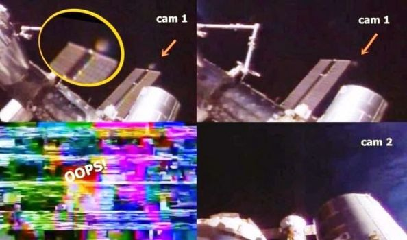 OVNI con forma de disco cerca de la ISS – 29 de agosto 2014