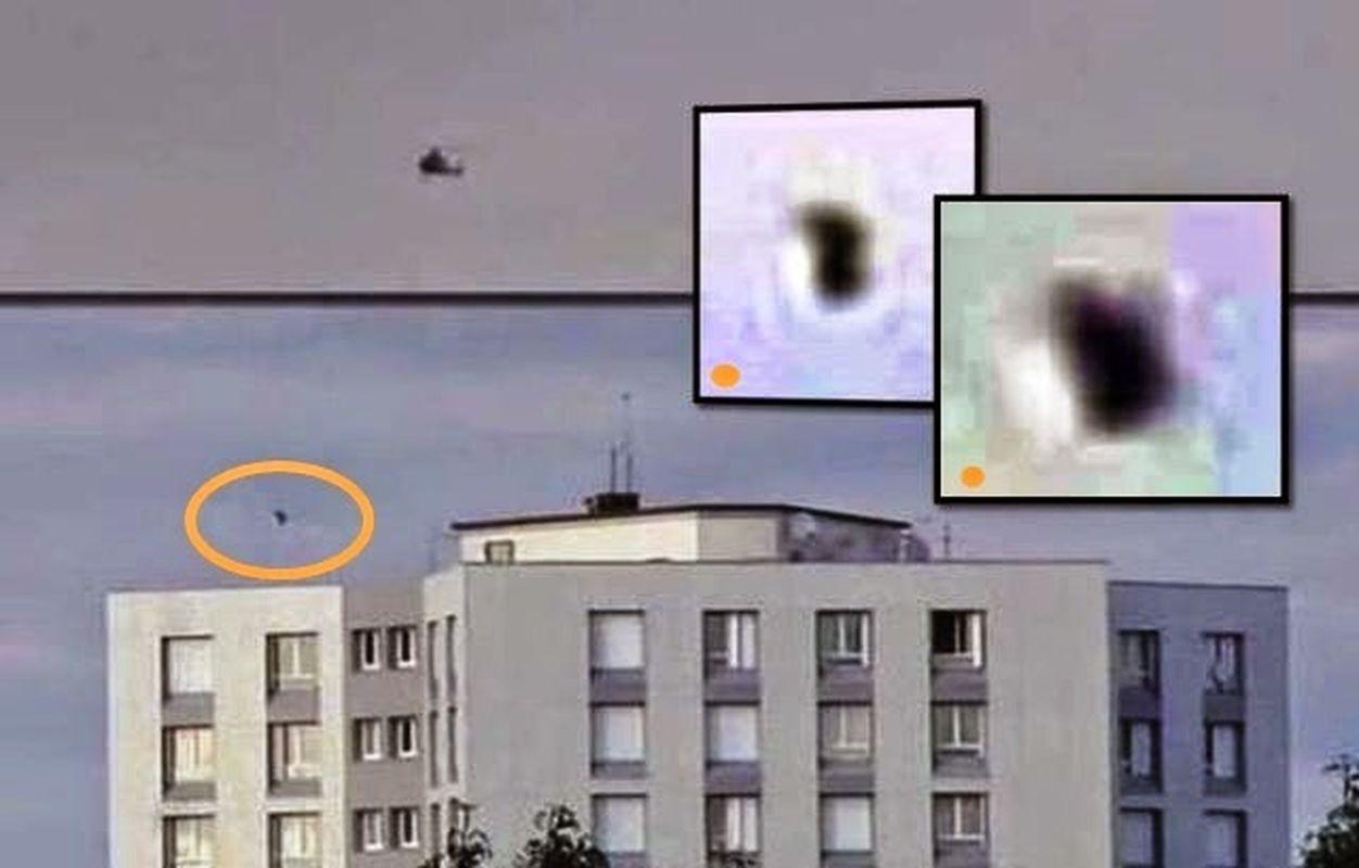 OVNI sobre París acechado por un helicóptero de la policía