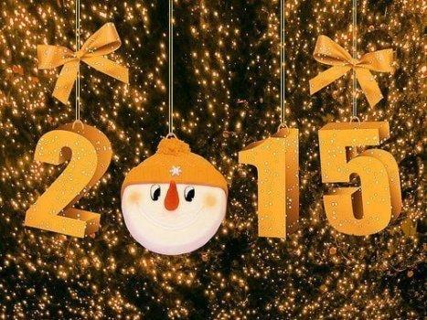 ¡Feliz año 2015!