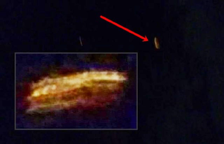 Extraño OVNI fotografiado sobre California