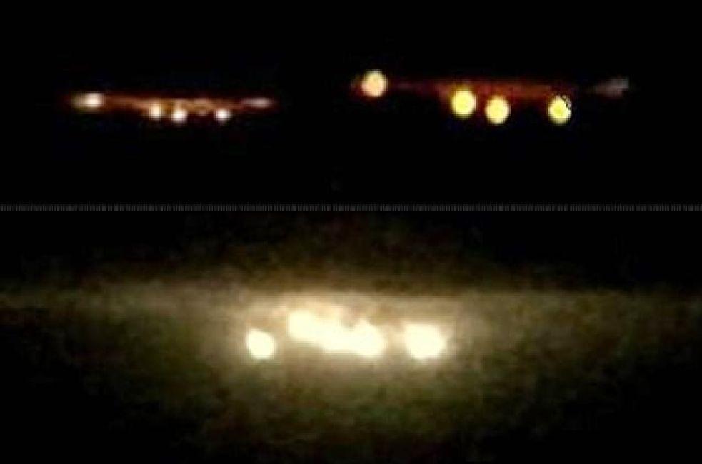 OVNIs grabados sobre Pampanga, Filipinas