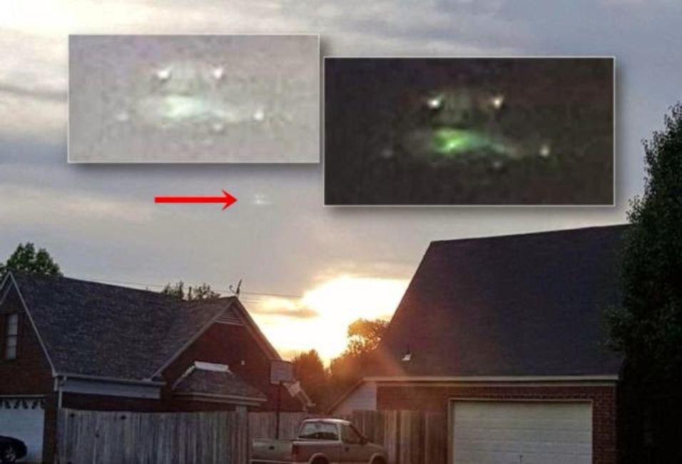 ¿OVNIs o portales en el cielo sobre Florida y Tennessee?