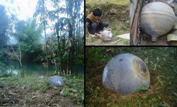 Objetos caen del cielo en el norte de Vietnam