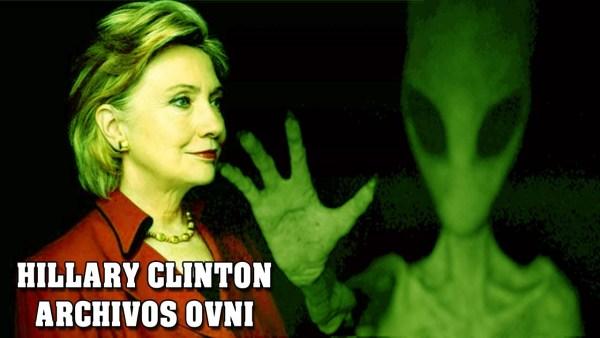 Hillary clinton revelará impactantes informes OVNI y extraterrestres