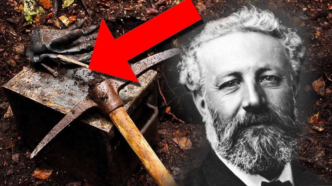 Encuentran enterrada una CÁPSULA DEL TIEMPO con los secretos de Julio Verne   VM Granmisterio