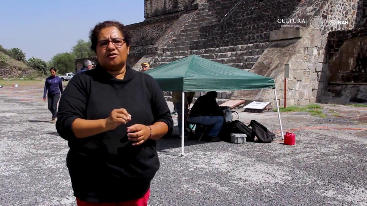 Descubren un nuevo túnel secreto en Teotihuacán bajo la Pirámide de la Luna