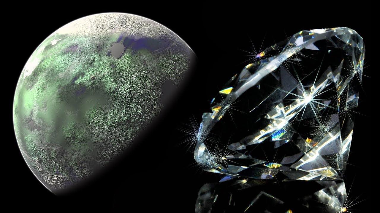 Encuentran Diamantes Extraterrestres Provenientes de un Antiguo Planeta