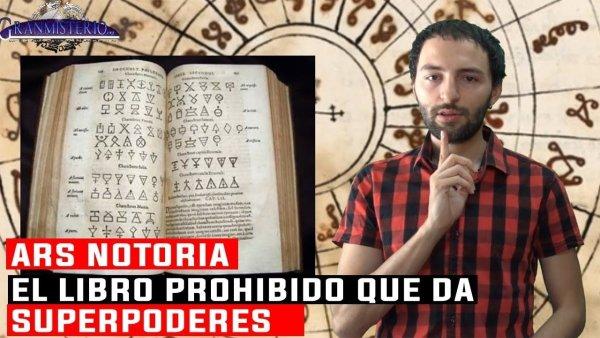 ARS NOTORIA – El libro Prohibido que da SUPERPODERES al Lector