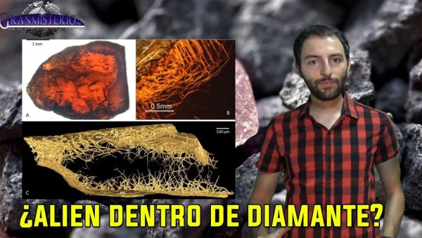 ¿Pueden existir Extraterrestres dentro de piedras como el Diamante?