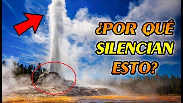Algo Muy Raro Ocurre en Yellowstone y lo Están Silenciando