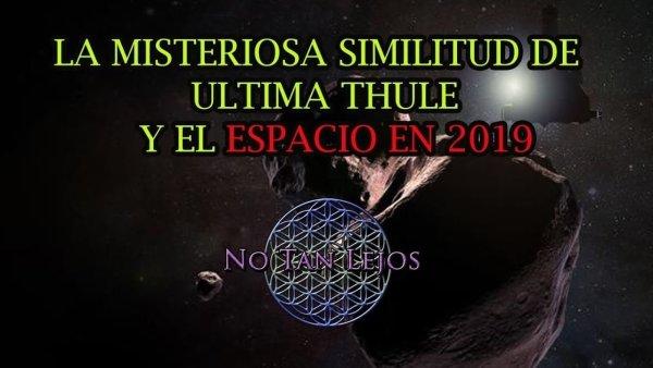 La extraña similitud de Ultima Thule y el espacio en 2019