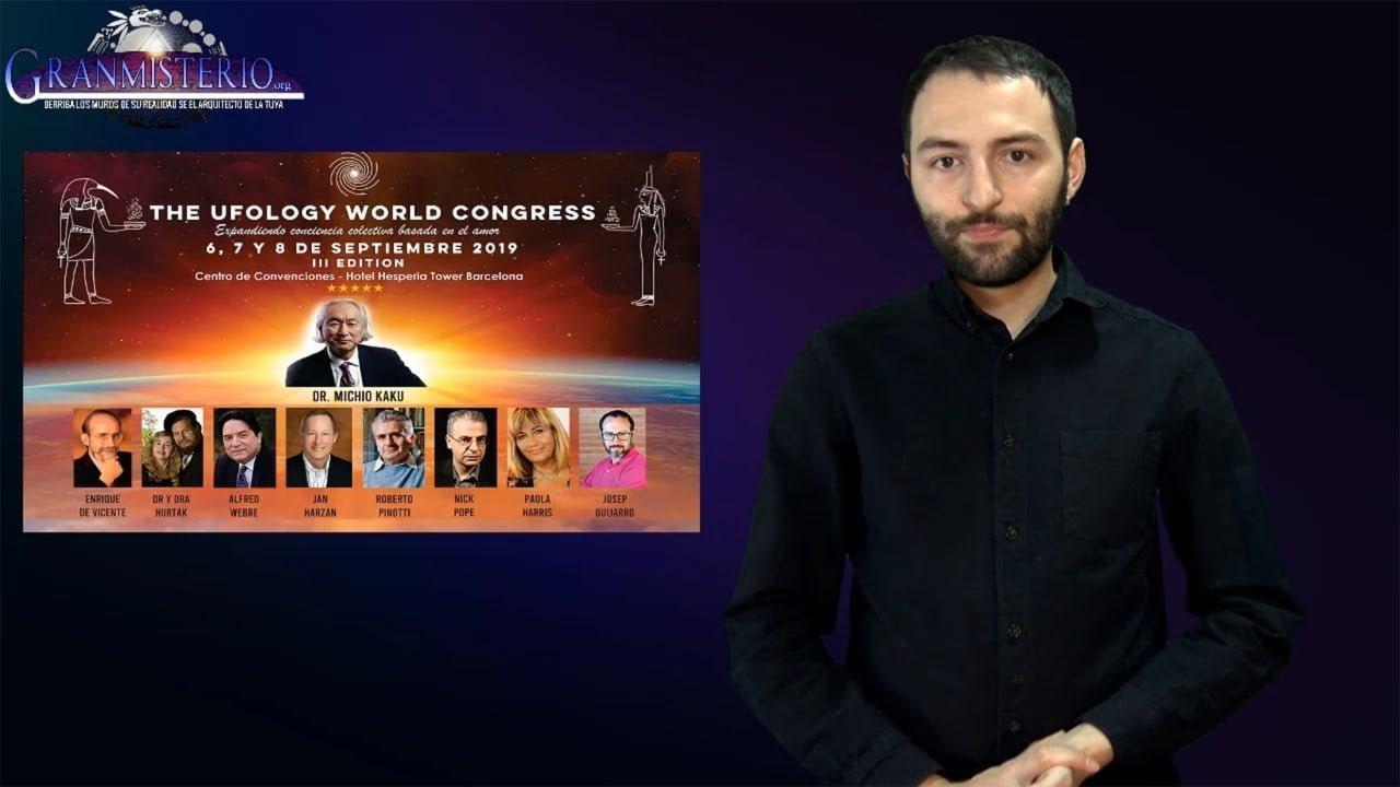 Estaremos con Michio Kaku en The Ufology World Congress 2019