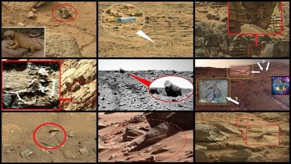 Civilizaciones Alienígenas en Marte y El Gran Encubrimiento