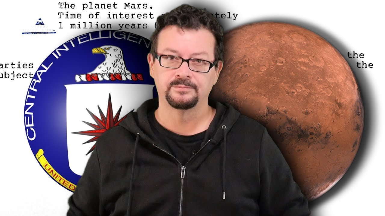 La CIA viajó a Marte