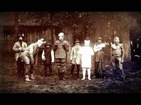 Los Disfraces de Halloween Antiguos que no Dejarán Dormir ni al más Valiente