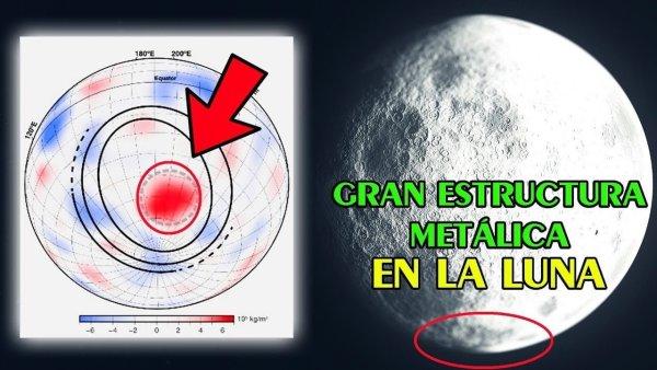 Descubren Enorme Objeto de Metal Enterrado en la Cara Oculta de la Luna