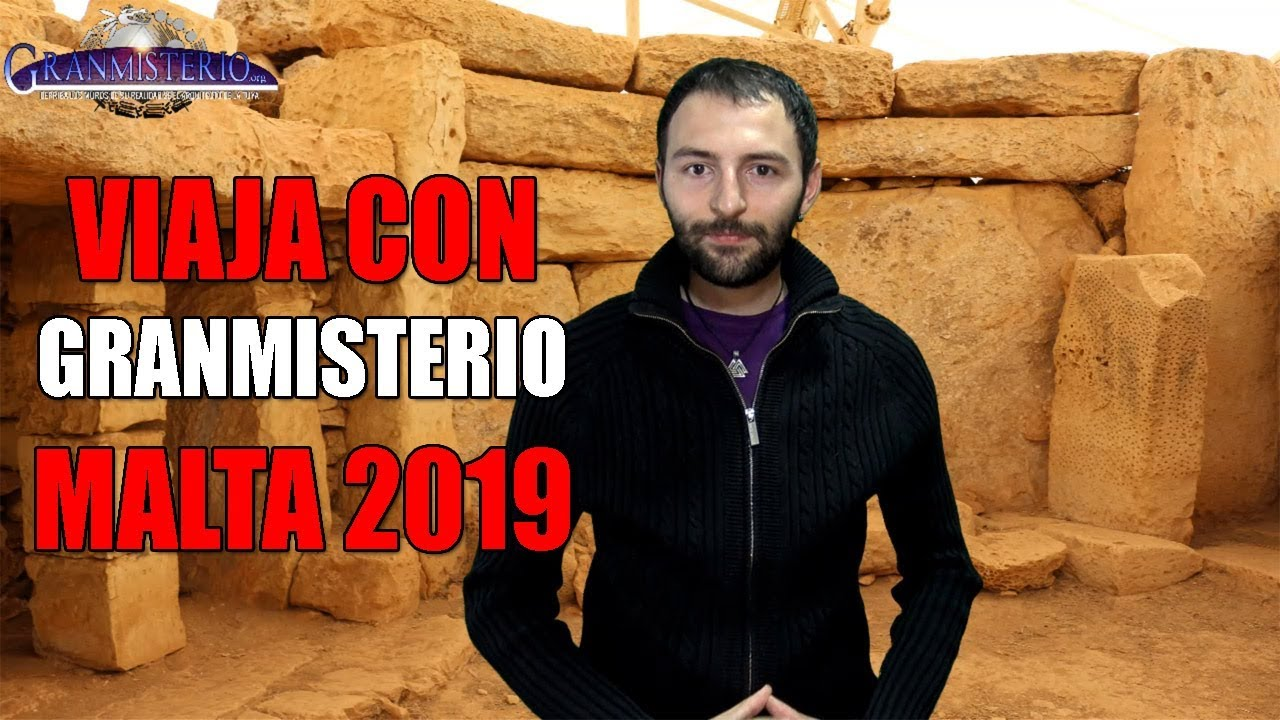 Viaja con granmisterio a Malta en Octubre 2019