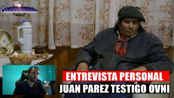 El Increíble contacto Extraterrestre de Juan Pérez – Entrevista personal